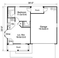 In-Law Apartment 1 level. Have single car garage instead to fit on standard lot?