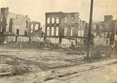 Hurricane Agnes (1972):  Gas main rupture burned down an entire block.  Kingston / Wilkes -Barre