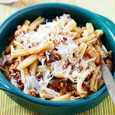 eggplants, eggplant pasta, eggplant ragu, meals, food, magazines, pasta dish, recip, new years