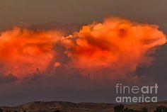 Clouds Over Emmett Foothills:  See more images at http://robert-bales.artistwebsites.com/