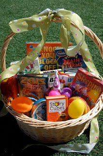 Brainy Games from ThinkingIQ for Easter Baskets- 15% code.  List of suggested games and activities by age group.