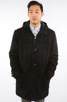 Spiewak The Pearson Duffle Coat in Black : Karmaloop $224