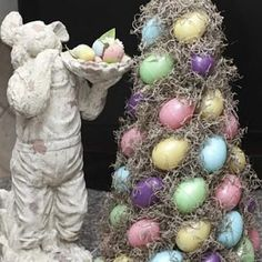 Easter Egg Topiary {Easter Crafts}