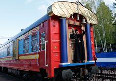 Choo-Choo Church: Train Brings God to Siberia - NBC News
