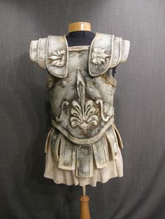 Roman Armor leather with skirt