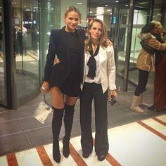 Shantel VanSanten and Bethany Joy Lenz in Paris 10/18/2014!