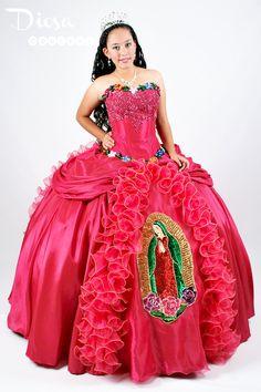 Vestido de Quinceañera en la vida real:
