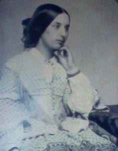Ambrotype of Fanny Brawne taken circa 1850