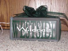 Westside Wildcats (West Fargo, ND) block