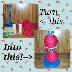Mum Made Me!: Photo how-to: yarn organization