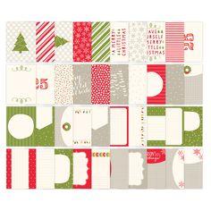 Seasonal Snapshot Digital Project Life Cards - Digital Download by Stampin' Up! #seasonalsnapshot #stampinup #plxsu #remarkablycreated