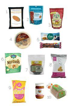 gluten free snacks from @Kendra Henseler Henseler Henseler Henseler Atkins //||\ good convenient snacks for travel!