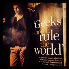 'Geeks should rule the world' says David Tennant in his Radio Times interview about his new show The Escape Artist