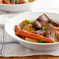 Pot Roast is the first thing that comes to our minds when thinking of comfort food! Try our favorite recipe here: http://www.bhg.com/recipes/party/seasonal/fall-comfort-food/?socsrc=bhgpin101513classicpotroast&page=30