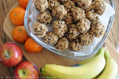 All natural, no-bake energy bites. Healthy snacks for kids (and their parents).