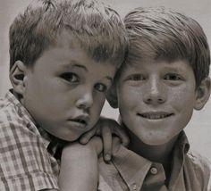Clint Howard and Ron Howard