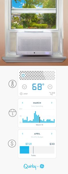 Your window sill is about to get a whole lot more futuristic. Meet Aros, the world's smartest air conditioner. With app-enabled budget tracking, you can adjust your usage to save on energy costs.