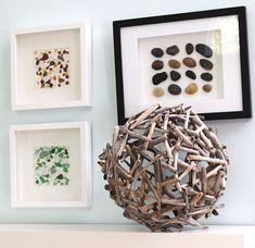 driftwood orb for decor (via creativeinchicago)