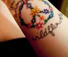 Peace Tattoo