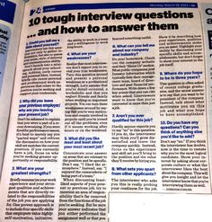 Interviews are so much crap... Interview Questions - Great Advice! We ask some of these questions in our mock interviews.
