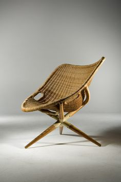 Tripod Chair by Joseph Andre Motte via Design Miami.