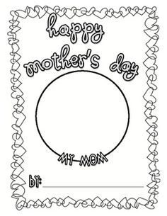 Have your students make a quick, yet meaningful book about their mom for Mother's Day.  This project is super easy to put together.  Simply print o...