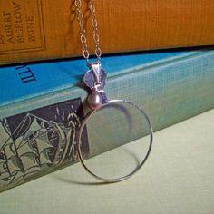 Spy Glass Necklace!