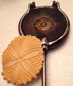 anise-flavored, crunchy pizzelles made with my Grandma's recipe ...