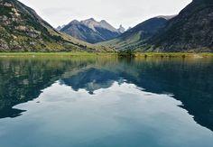 Lago Azul Chilean Patagonia