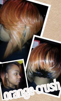 brazilian hair, custom color, bob weave full sew in, full sewin, bobs, bob cut, bob hairstyl, hair weaves, color bob