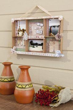 Reciclagem de caixa de papelão / DIY, Craft, Upcycle