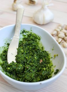 Pistachio Kale Pesto Full