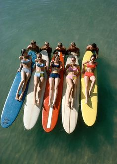 vintage surfer girls… great shot