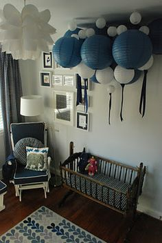 Elephant theme nursery