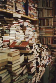 books books and more books.  i want