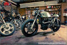 HONDA CM400 Cafe Racer - Retro Moto, Dallas, Texas