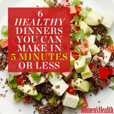 6 Healthy Dinners You Can Make in 5 Minutes or Less