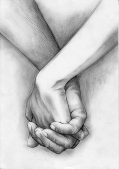 this is like the way I will draw people holding hands