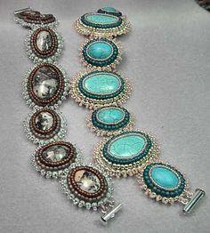 Bead Embroidery Bracelets 1 Tutorial
