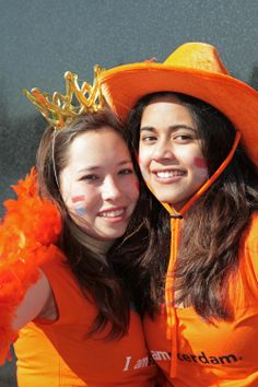 King's Day: The Dutch break out of the winter blahs, donning lots of orange, and celebrating in the streets to mark the reigning monarch's birthday and to welcome warmer weather.