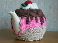 Cupcake teapot cosy  #crochet