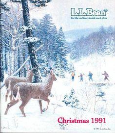 L.L.Bean Christmas 1991 - by  LEE STRONCEK