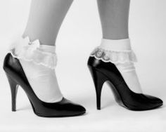 socks with your pumps!