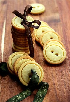 Button cookies.