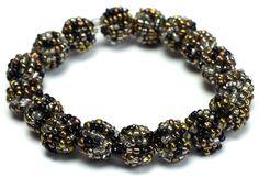 #Beaded Stretch #Bracelet Milan #jewelry
