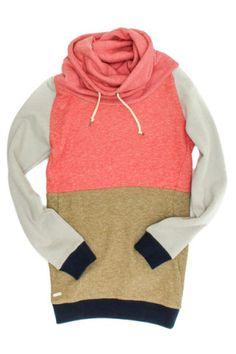 Extend Sweatshirt- Pink & Olive | Tigertree