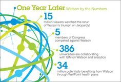 One Year Later - Watson by the Numbers, February 2012