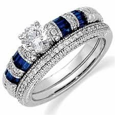 blue sapphire ring - Google Search