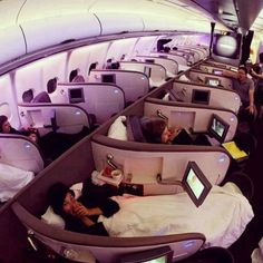 Airplane of comfort