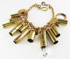 Bullet Charm Bracelet